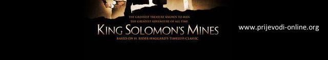 King Solomone's Mines