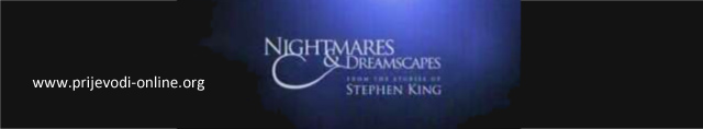 Nightmares and Dremscapes